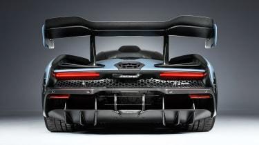 McLaren Senna - grey full rear