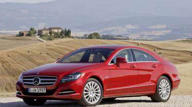 Mercedes CLS static