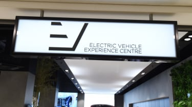Electric Vehicle Experience Centre - sign