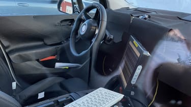 BMW 2 Series Tourer spy - interior