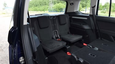 Volkswagen Touran - back seats (7 seater)