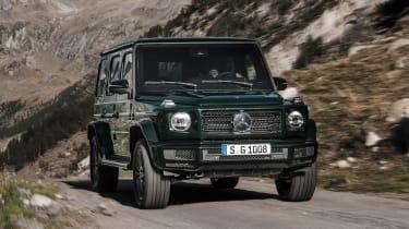 Mercedes G-Class - front