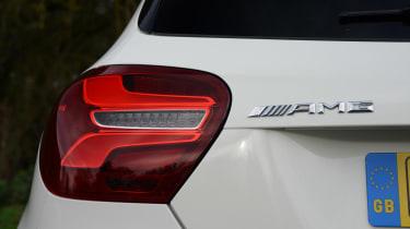 Mercedes-AMG A45 - rear badge detail