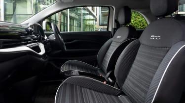 Fiat 500 Action - front seats