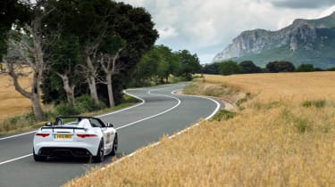 TheJaguar Project 7, is named in reference to Jaguar's seven victories atLe Mans. Just 250 examples will be built.