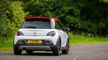 Vauxhall Adam S Rocks 2016 - rear cornering