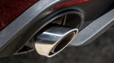 Ford Mustang EcoBoost Convertible - exhaust