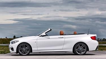 BMW 220d Convertible - roof open