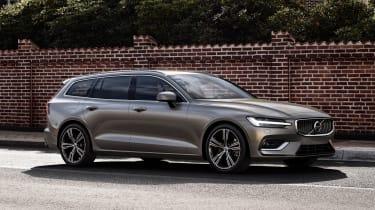 Volvo V60 - front/side