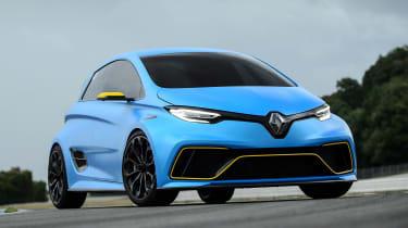 Renault ZOE E-Sport concept - front static