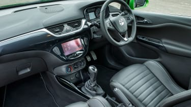 Vauxhall Corsa VXR - interior