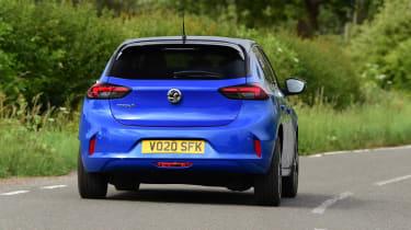 Vauxhall Corsa-e - rear cornering