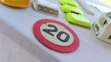 20 speed limit sign