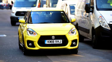 Suzuki Swift Sport - final report front