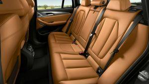 BMW X3 - rear seats