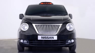 Nissan NV200 Taxi front on