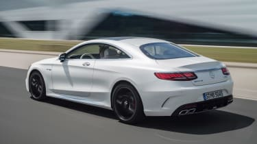 Mercedes-AMG S 63 Coupe - rear