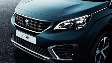 New Peugeot 5008 2016 - blue front detail