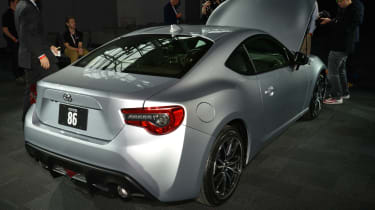 Toyota GT 86 2017 - New York rear quarter 2