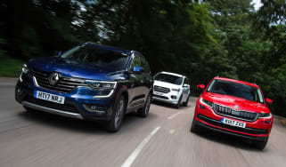 Renault Koleos vs Skoda Kodiaq vs Ford Kuga - header