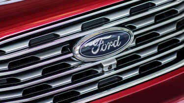 Ford Edge 2018 facelift grille