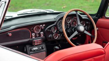 Electric Aston Martin DB6 Mk2 Volante - dash