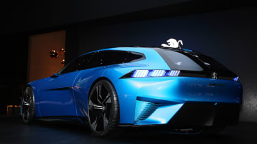 Peugeot Instinct concept Geneva - rear