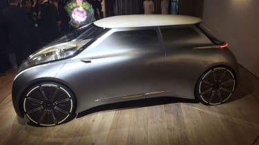MINI Vision Next 100 concept - side detail