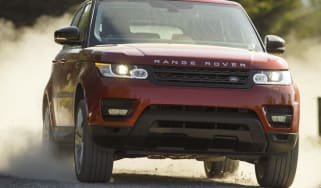 Range Rover Sport Supercharged front grille