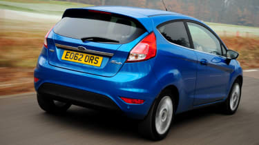 Ford Fiesta rear action
