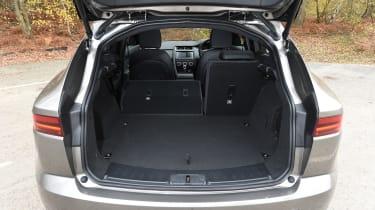 Jaguar E-Pace review - boot