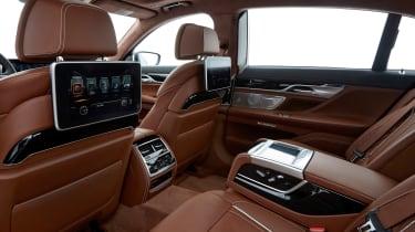 BMW 740Ld xDrive - rear interior