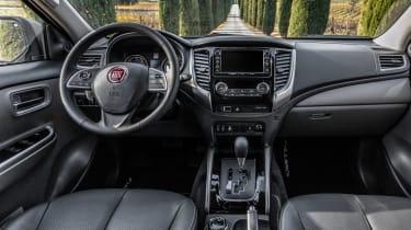 Fiat Fullback Cross - dash