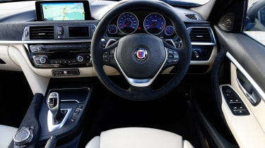 Alpina D3 Touring dash