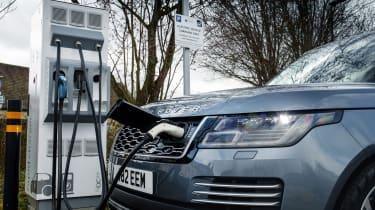 Range Rover PHEV - charging