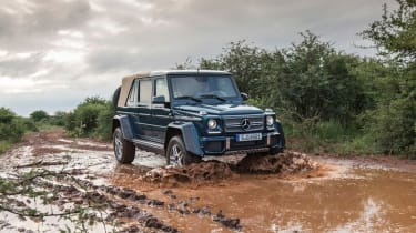 Mercedes-Maybach G 650 Landaulet - front action