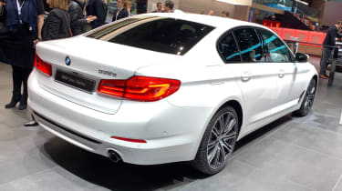 BMW 530e - Geneva rear