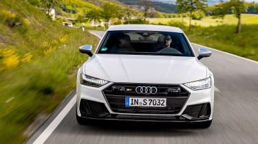 New Audi S7 Sportback - full front