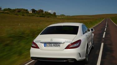 New Mercedes CLS 2014 rear