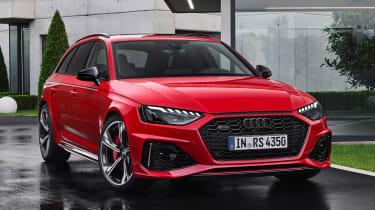 Audi RS 4 Avant - front static