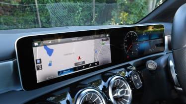 Mercedes A-Class long-term test review - interior screens