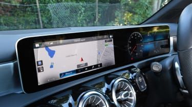 Mercedes A-Class long-term test review - interior screens