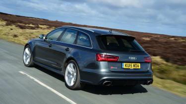 Audi RS6 - rear tracking