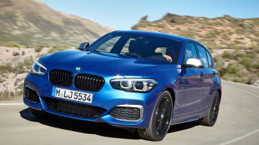 2017 BMW 1 Series upgrades front quarter
