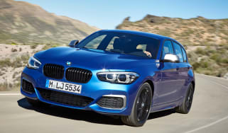 2017 BMW 1 Series upgrades front quarter