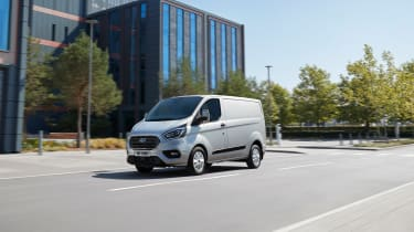 Ford Transit Custom PHEV - Motion Front