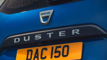 Dacia Duster 2021 facelift - badge