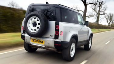 Land Rover Defender 90 D250 - rear