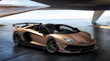 Lamborghini Aventador SVJ Roadster - front