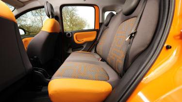 Fiat Panda Trekking rear seats
